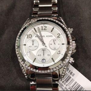 Michael Kors watch chronograph silver